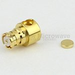 RA SMP Female Connector Solder Attachment For RG405, RG405 Tinned, .086 SR Cable