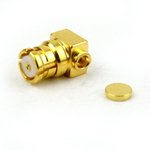 RA SMP Female Connector Solder Attachment For .047 SR Cable