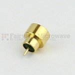 SMP Male Limited Detent Hermetically Sealed Connector .060 inch Pin Terminal Solder Attachment