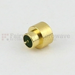 SMP Male Limited Detent Hermetically Sealed Connector .030 inch Pin Terminal Solder Attachment