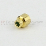 Mini SMP Male Full Detent Hermetically Sealed Connector Pin Terminal Solder Attachment