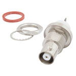 MHV Female Bulkhead Connector Solder Cup Terminal Solder Attachment IP67 Rated