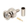 BNC Male Connector Crimp/Solder Attachment For RG58, RG141 Cable