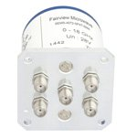 SP4T NO DC to 18 GHz Electro-Mechanical Relay Switch, up to 240W, 28V, SMA