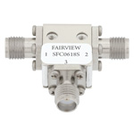 Circulator SMA Female With 14 dB Isolation From 6 GHz to 18 GHz Rated to 10 Watts