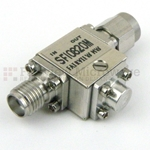 Isolator SMA Female With 15 dB Isolation From 8 GHz to 20 GHz Rated to 10 Watts