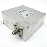 Isolator SMA Female With 17 dB Isolation From 1 GHz to 2 GHz Rated to 10 Watts