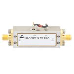80 dB Gain Limiting Amplifier Operating From 2 GHz to 6 GHz with -61 to 10 dBm Pin, 15 dBm Psat and SMA