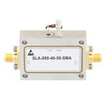 40 dB Gain Limiting Amplifier Operating From 2 GHz to 8 GHz with -20 to 20 dBm Pin, 19 dBm Psat and SMA