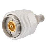 7mm Sexless to 2.92mm Female (Jack) Adapter, Passivated Stainless Steel Body, 1.15 VSWR