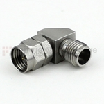RA 1.85mm Male to 2.4mm Female Adapter