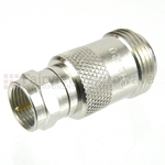 50 Ohm N Female to 75 Ohm F Male Adapter