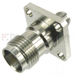 SMA Female to TNC Female 4 Hole Flange Adapter