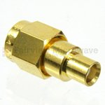MCX Jack to SMA Male Adapter
