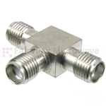 SMA T Adapter Female-Female-Female