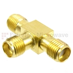 SMA T Adapter Female Female Female