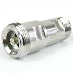 4.1/9.5 Mini-DIN Female to N Female, PIM <160 dBc VSWR 1.25:1 @ 6 GHz