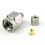 2.92mm Male Connector Clamp/Non-Solder Contact Attachment For .047 SR Cable