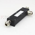 N Directional Coupler 10 dB Coupled Port From 800 MHz to 2.5 GHz Rated To 60 Watts