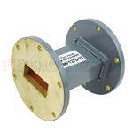 WR-137 Waveguide Section 3 Inch Length Straight Using UG-344/U Flange With a 5.85 GHz to 8.2 GHz Frequency Range in Commercial Grade