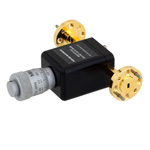 WR-10 Waveguide Phase Shifter 0 to 180 Degree With a UG-387/U-Mod Flange From 75 GHz to 110 GHz