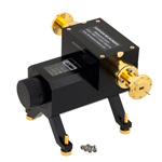 0 to 50 dB WR-22 Waveguide Direct Read Attenuator From 33 GHz to 50 GHz, Dial UG-383/U Flange