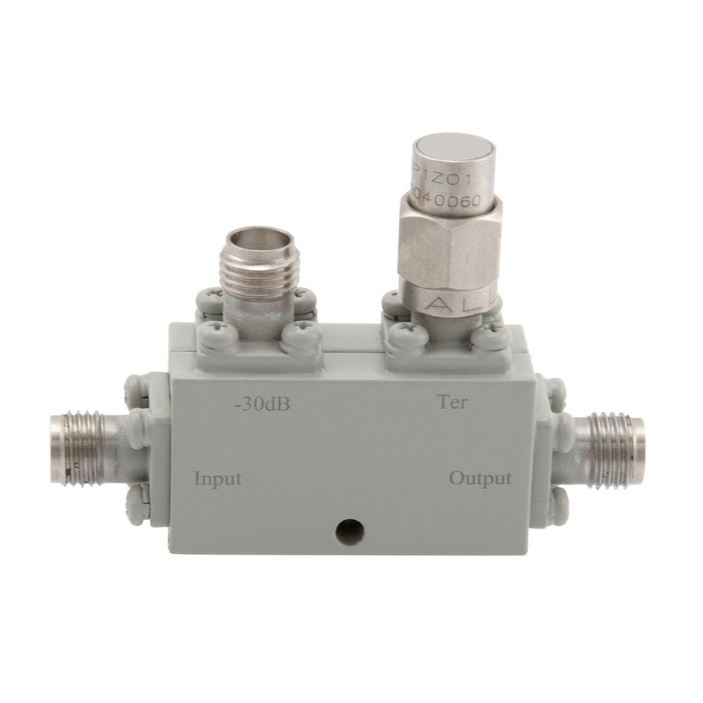 SMA Directional Coupler 30 dB 18 GHz to 26 GHz Rated to 30 Watts