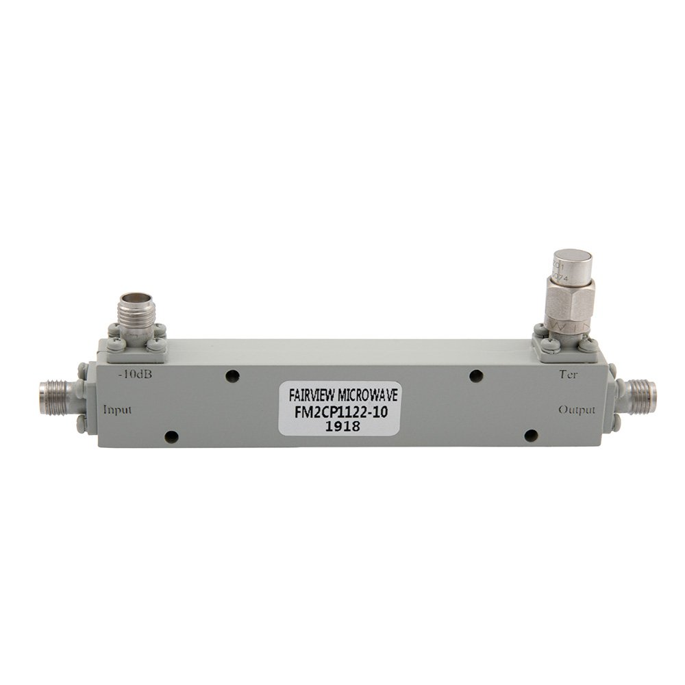 2.92mm Directional Coupler 10 dB 1 GHz to 40 GHz Rated to 20 Watts