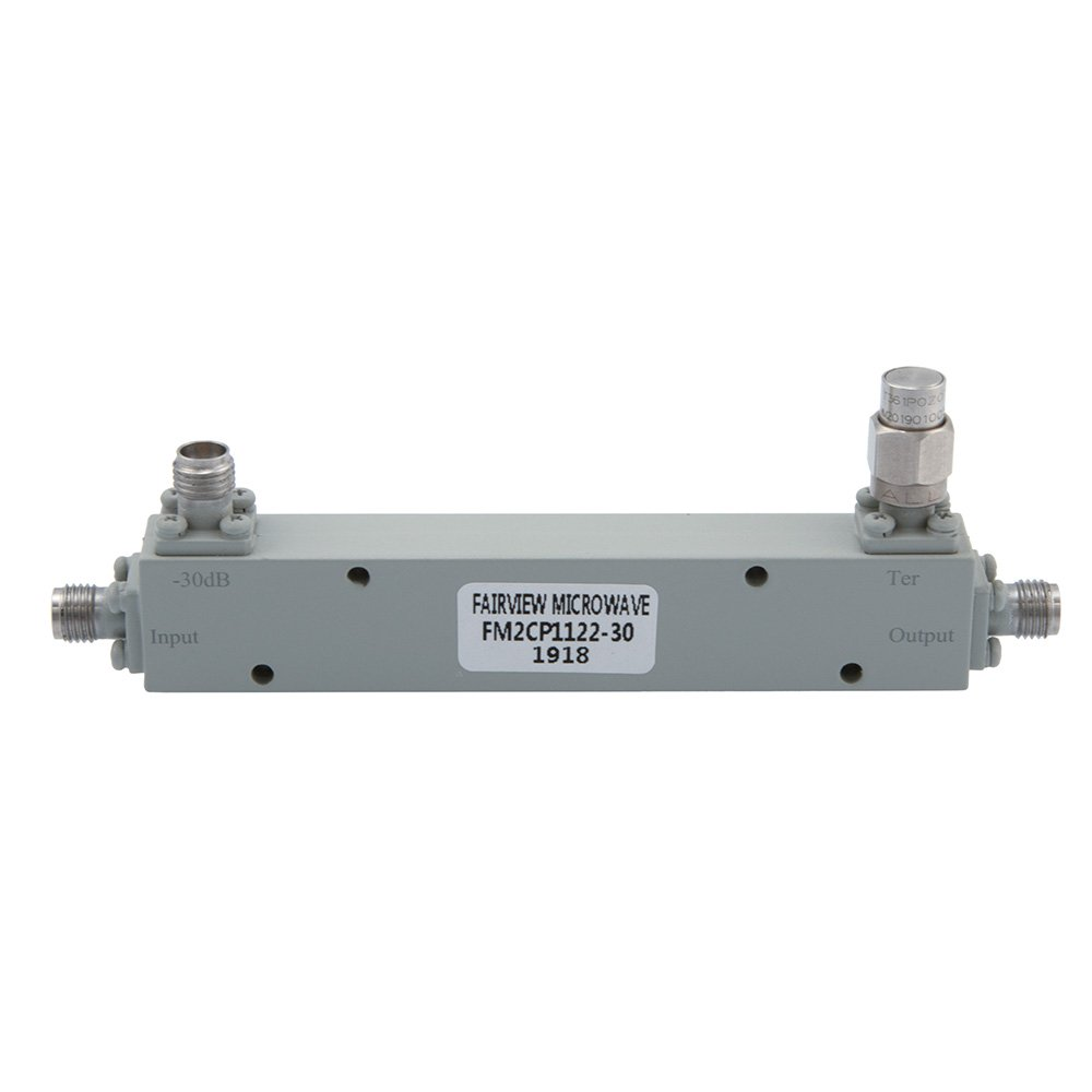 2.92mm Directional Coupler 30 dB 1 GHz to 40 GHz Rated to 30 Watts
