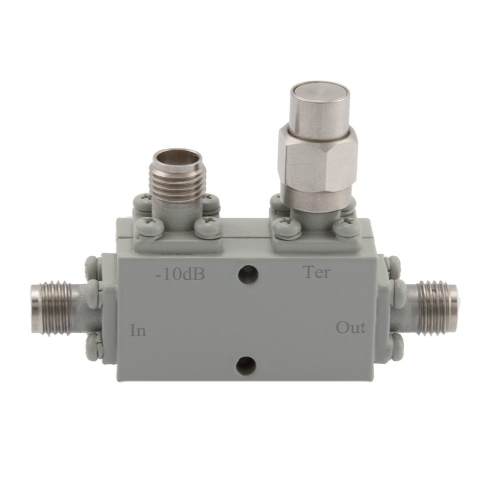 2.92mm Directional Coupler 10 dB 8 GHz to 40 GHz Rated to 30 Watts