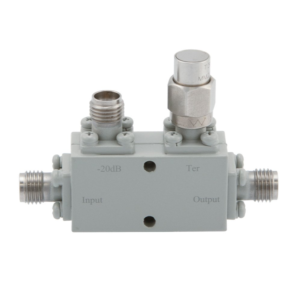 2.92mm Directional Coupler 20 dB 8 GHz to 40 GHz Rated to 30 Watts
