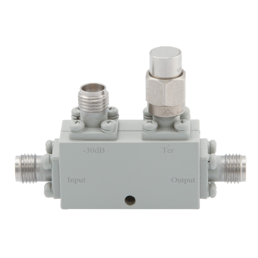 2.92mm Directional Coupler 30 dB 8 GHz to 40 GHz Rated to 30 Watts
