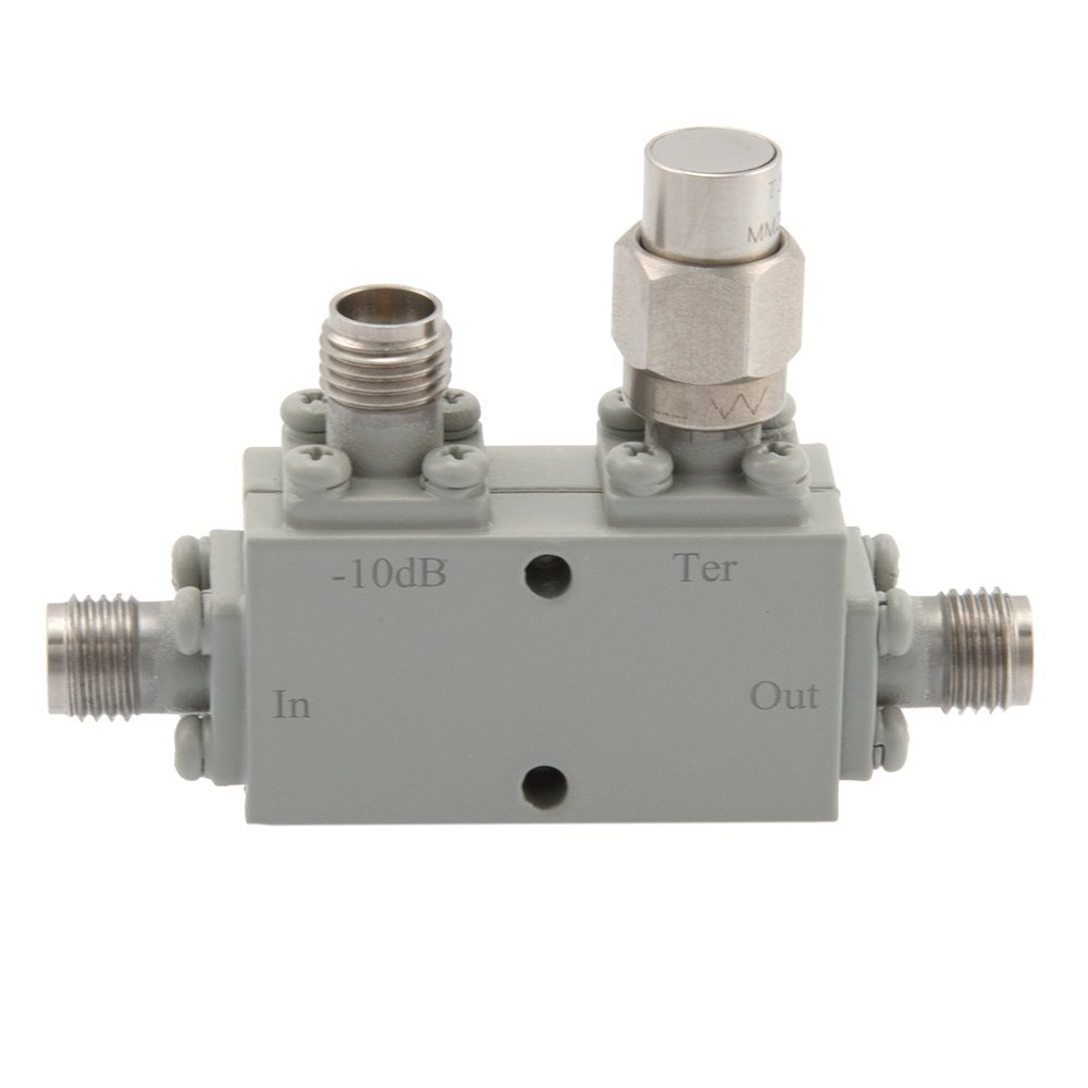 2.92mm Directional Coupler 10 dB 18 GHz to 40 GHz Rated to 30 Watts