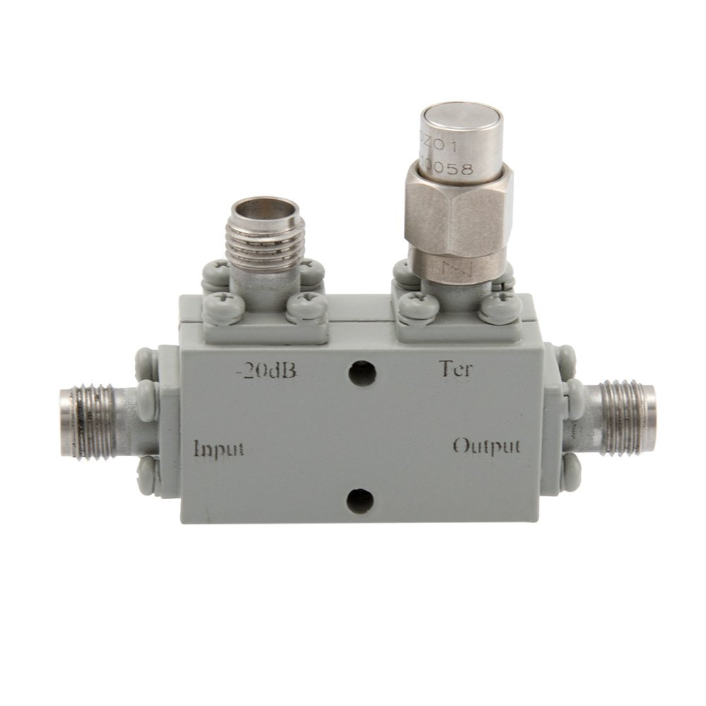 2.92mm Directional Coupler 20 dB 18 GHz to 40 GHz Rated to 30 Watts