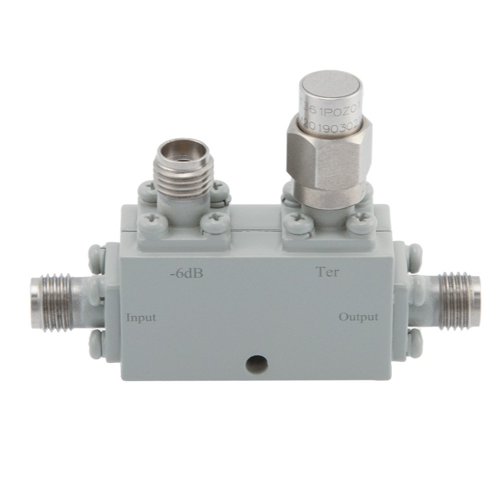 2.92mm Directional Coupler 6 dB 18 GHz to 40 GHz Rated to 30 Watts