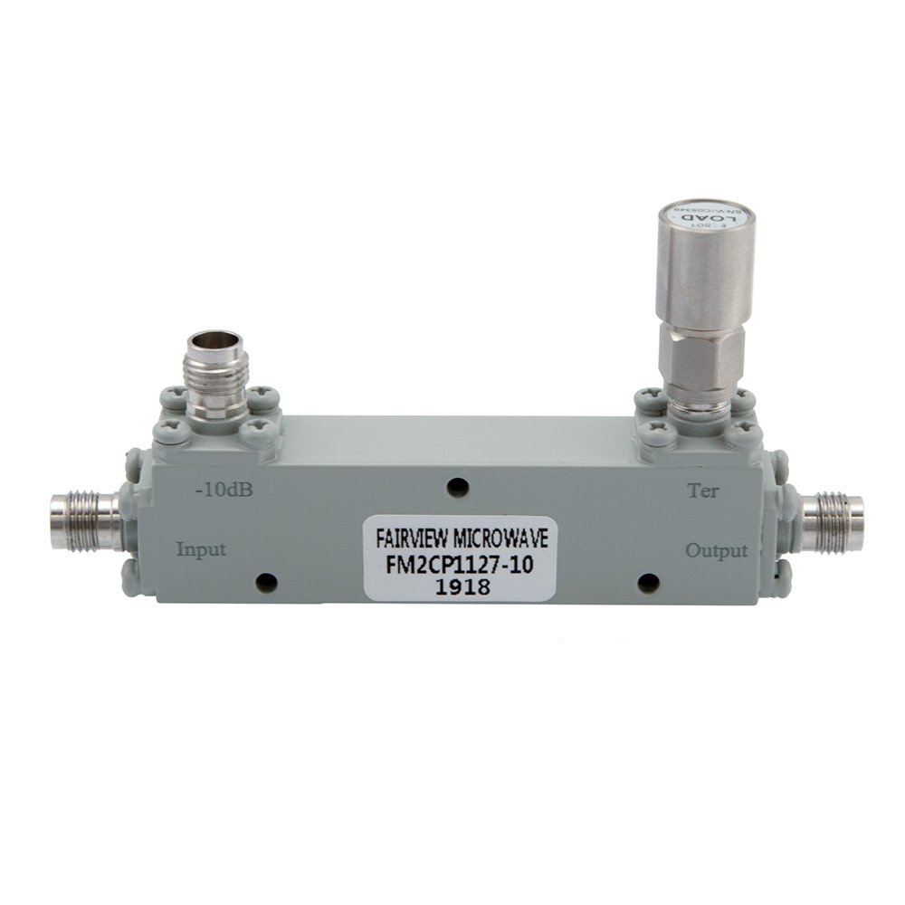 1.85mm Directional Coupler 10 dB 1 GHz to 67 GHz Rated to 20 Watts