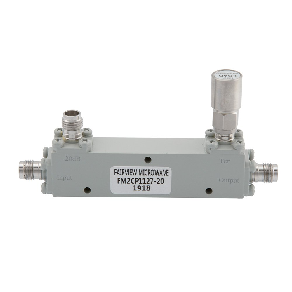 1.85mm Directional Coupler 20 dB 1 GHz to 67 GHz Rated to 20 Watts