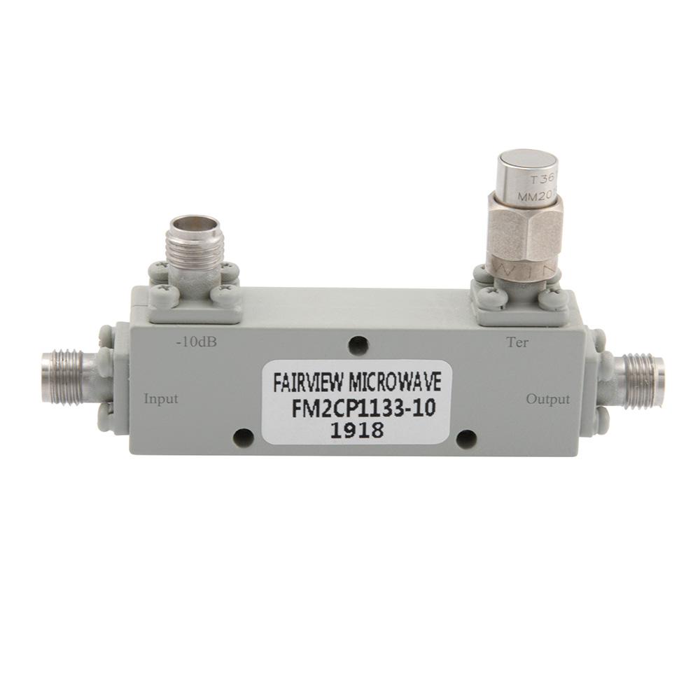 2.92mm Directional Coupler 10 dB 2 GHz to 40 GHz Rated to 30 Watts