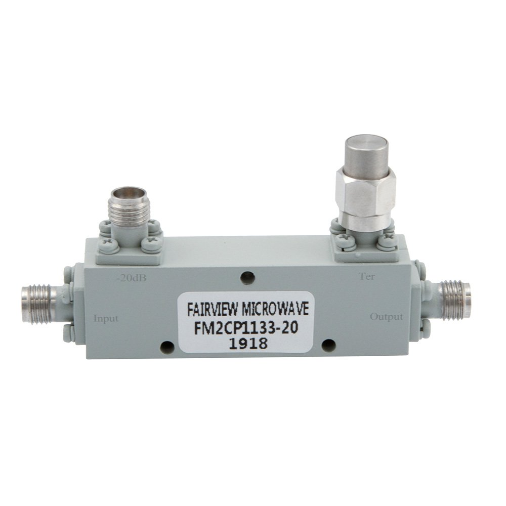 2.92mm Directional Coupler 20 dB 2 GHz to 40 GHz Rated to 30 Watts