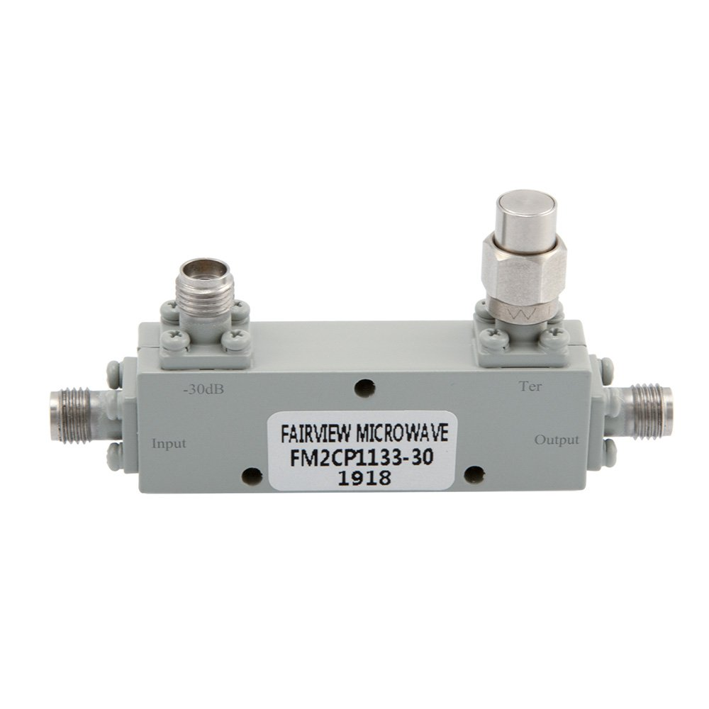 2.92mm Directional Coupler 30 dB 2 GHz to 40 GHz Rated to 30 Watts