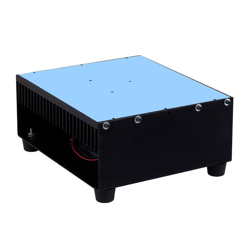 Amplifier Heat Sink with Fan for RF Power Amp SPA-027-20-100-SMA