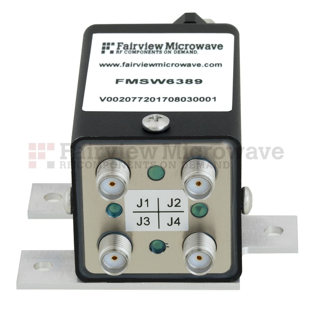 Transfer Failsafe DC to 18 GHz Electro-Mechanical Relay Switch, up to 90W, 24V, SMA