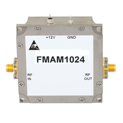 Low Noise Amplifier Operating From 1.2 GHz to 1.4 GHz with 35 dB Gain, 15 dBm P1dB and SMA high resolution