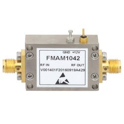 1.8 dB NF Low Noise Amplifier Operating From 50 MHz to 2 GHz with 27 dB Gain, 22 dBm P1dB and SMA high resolution