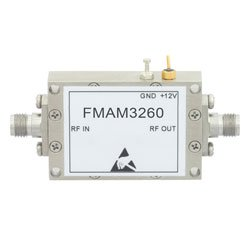 2 dB NF, 18 GHz to 26.5 GHz, Low Noise Broadband Amplifier with 13 dBm, 40 dB Gain, 22 dBm IP3 and 2.92mm high resolution