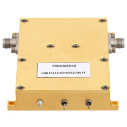 10 MHz to 6 GHz, Medium Power Broadband Amplifier with 900 mW, 24 dB Gain and SMA high resolution