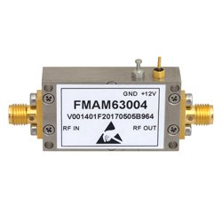 1.2 dB NF Input Protected Low Noise Amplifier, Operating From 900 MHz to 1.2 GHz with 30 dB Gain, 10 dBm P1dB and SMA high resolution