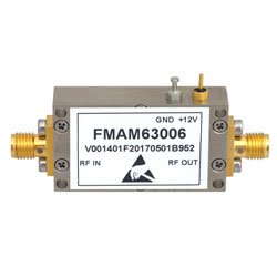 1.2 dB NF Input Protected Low Noise Amplifier, Operating From 1 GHz to 1.4 GHz with 30 dB Gain, 10 dBm P1dB and SMA high resolution