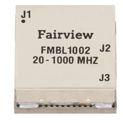 20 MHz to 1,000 MHz Balun at 50 Ohm to 25 Ohm Rated to 100 Watts in a SMT (Surface Mount) Package high resolution