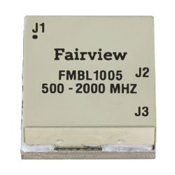 500 MHz to 2 GHz Balun at 50 Ohm to 25 Ohm Rated to 100 Watts in a SMT (Surface Mount) Package high resolution